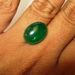 Chalcedony Hijau Bacan Cincau 11.85 carat