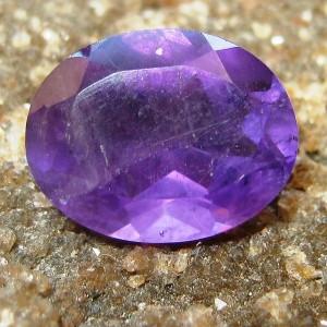 Oval Violete Amethyst 1.35 carat