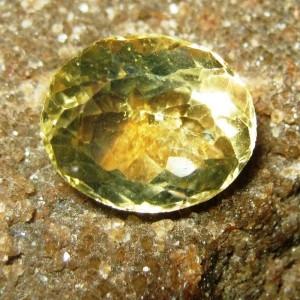 Yellow Citrine Oval 3.95 carat
