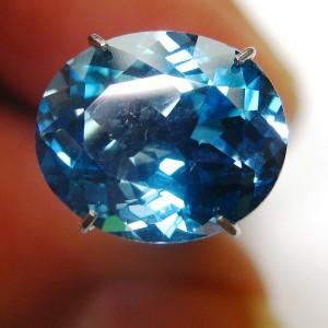 London Blue Topaz 5.02 carat Oval