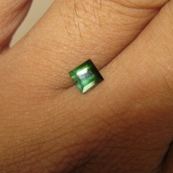 Rectangular Green Tourmaline 0.80 carat