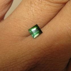 Rectangular Green Tourmaline 0.80 carat