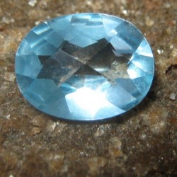 Oval Sky Blue Topaz VS 1.90 carat