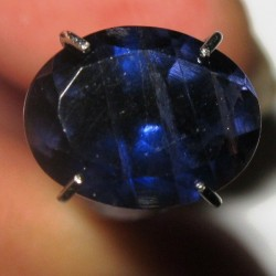 Deep Blue Violetish Iolite 1.50 carat