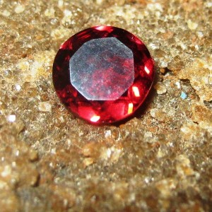 Round Pyrope Garnet 0.85 carat