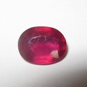 Purplise Red Ruby 2.03 carat