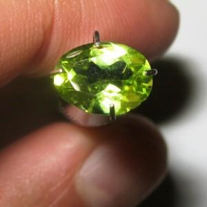 Natural Peridot Oval 1.15 carat