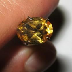 Oval Orangy Yellow Citrine 1.35 carat
