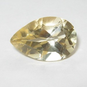 Pear Shape Yellow Citrine 2.85 carat
