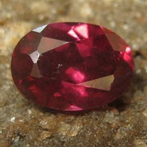 Purple Pyrope Oval Garnet 1.05 carat