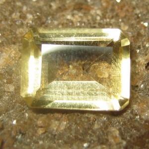 Citrine Kuning Rectangular 1.35 carat