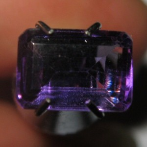 Amethyst Purple Rectangular 0.94 carat