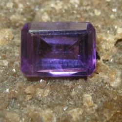 Amethyst Segi Panjang 0.91 carat