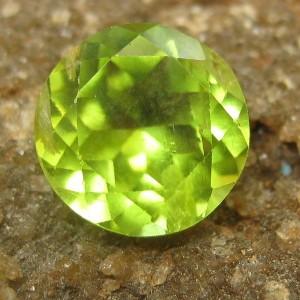 Peridot Hijau Round Cut 1.50 carat
