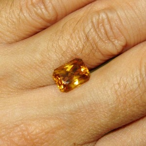 Natural Orange Citrine 2.59 cts
