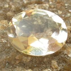 Citrine Kuning Muda Oval 1.35 carat
