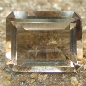Smoky Quartz Rectangular 3.20 carat