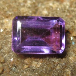 Purple Amethyst Segi Panjang 0.95 carat