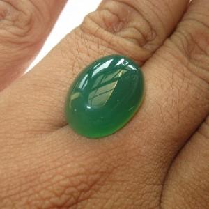 Chalcedony Hijau Bacan 12.90 carat