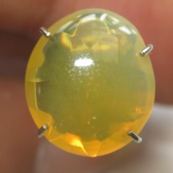 Orangy Yellow Fire Opal 2.10 carat