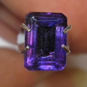 Amethyst Rectangular 0.95 carat