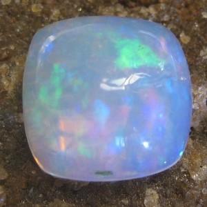 Honey Comb Cushion Opal 2.25 carat