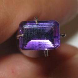 Rectangular Amethyst 0.84 carat