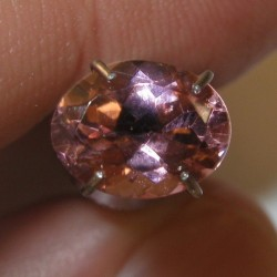 Tourmaline Orangy Pink 1.33 carat