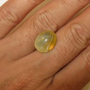Buff Top Fire Opal 4.38 carat