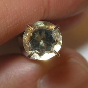 Round Yellow Citrine 0.80 carat
