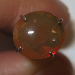 Orangy Brown Fire Opal 1.24 carat