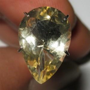 Pear Shape Yellow Citrine 3.20 carat