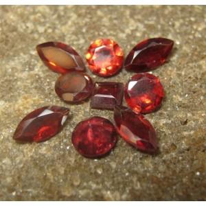 9 Garnet Merah Mix 3.50 carat