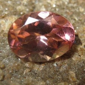 Pink Tourmaline Oval 1.24 carat