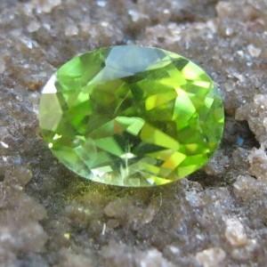 Oval Cut Peridot 1.65 carat