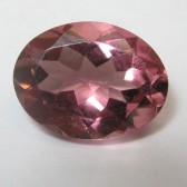 Oval VSI Pink Tourmaline 1.09 carat
