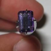 Amehtyst Quartz Rect 0.82 carat