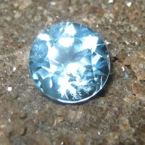 Round Sky Topaz 1.50 carat