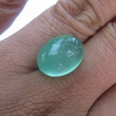 Chalcedony Hijau Bening 10.60 carat