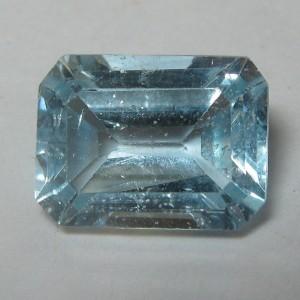 Rectangular Sky Topaz 2.10 carat
