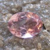 VSI Pink Tourmaline 1.15 carat