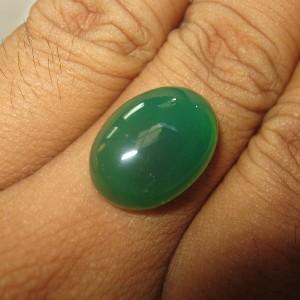 Chalcedony Hijau Bacan 11.90 carat