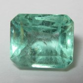 Square Cut Emerald 1.34 carat
