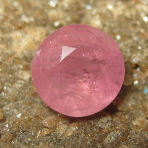 Safir Pink Round Cut 1.29 carat