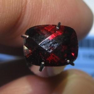 Cushion Buff Top Pyrope Garnet 1.68 carat