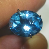 Oval Swiss Blue Topaz 2.82 carat