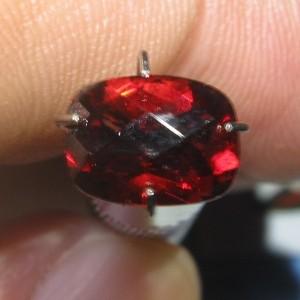 Red Pyrope Buff Top Garnet 1.70 carat