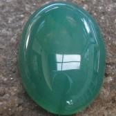 Chalcedony Hijau Sedang 16.50 carat