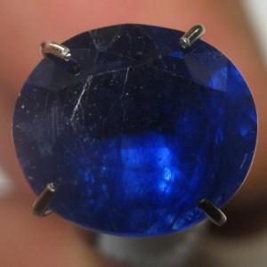 Safir Biru Oval Cut 2.80 carat