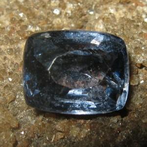 Spinel Biru Greyish 1.55 carat